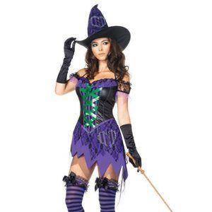 Leg Avenue Crafty Cutie Costume S/M Dress 4-8